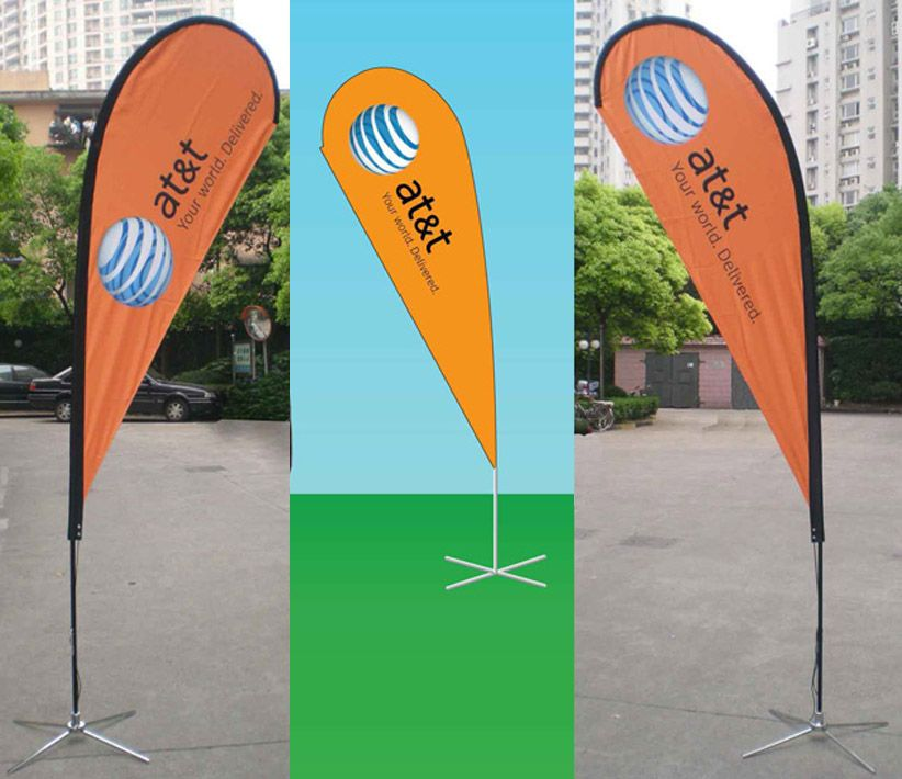 AT&T Flying Promo Banners