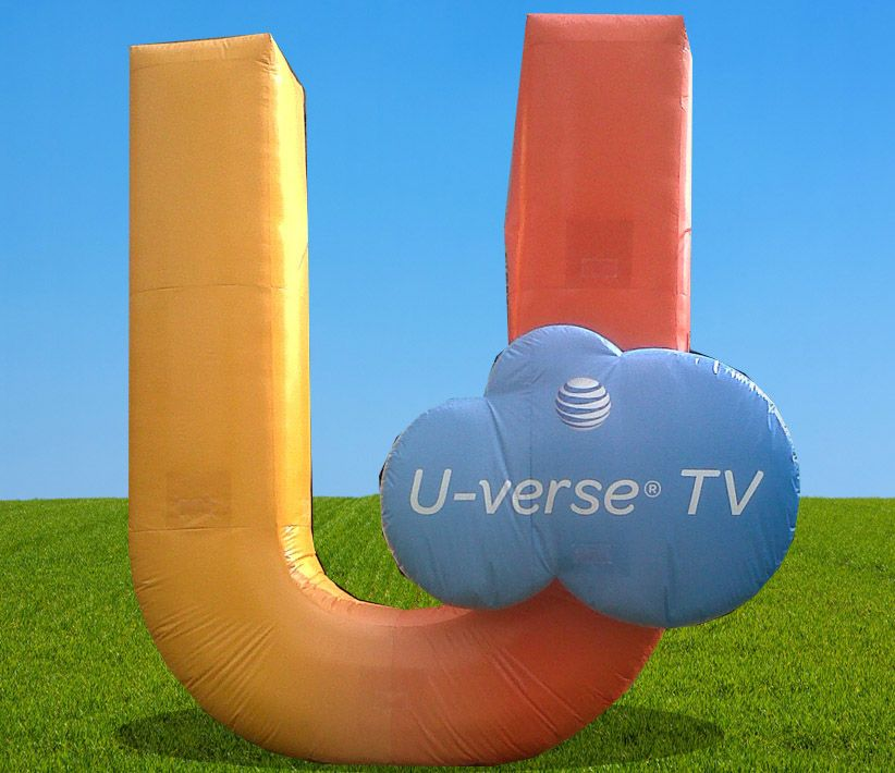 AT&T U-verse TV Giant Inflatable