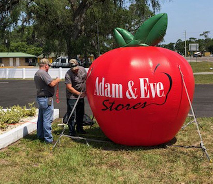 Adam & Eve Apple Inflatable