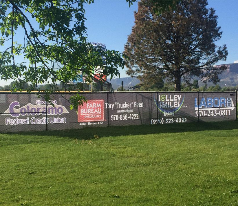 Advertising Fence Wrap