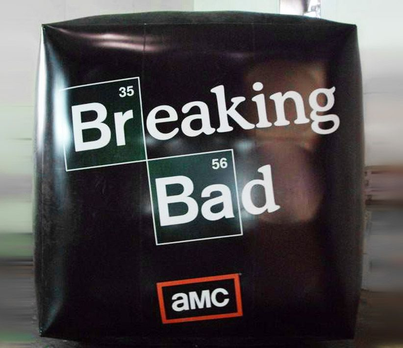 Breaking Bad Helium Cube