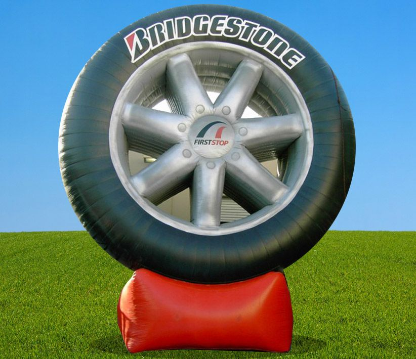 Bridgestone Tire Giant Inflatable