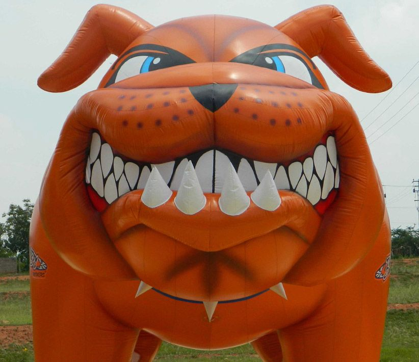 Bulldog Face Inflatable