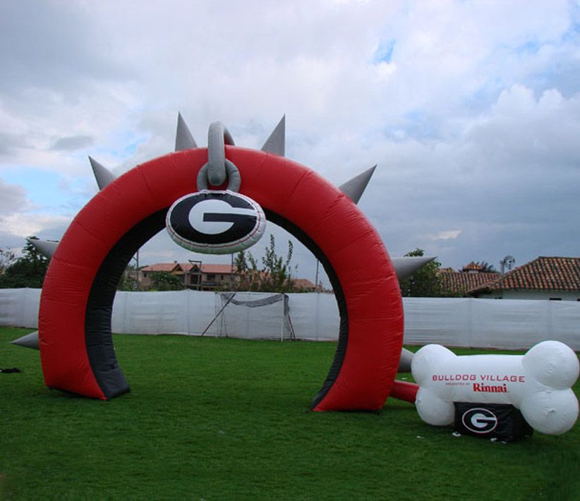 Bulldog Village Inflatable Arch