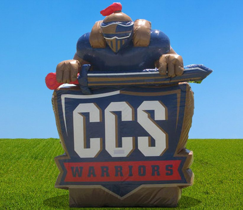 CCS Warriors Giant Inflatable