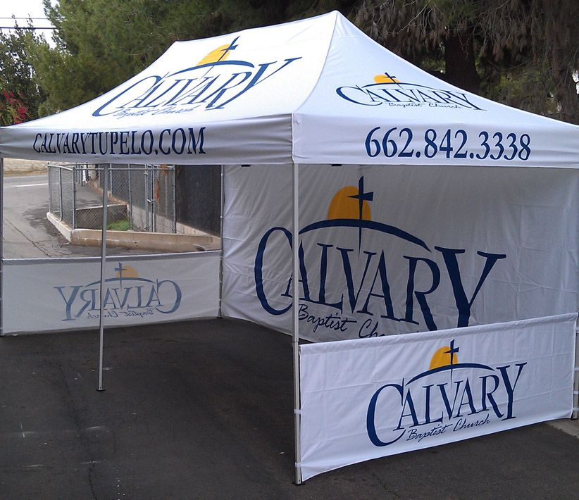 Calvary Baptist Church Double Wide Tent