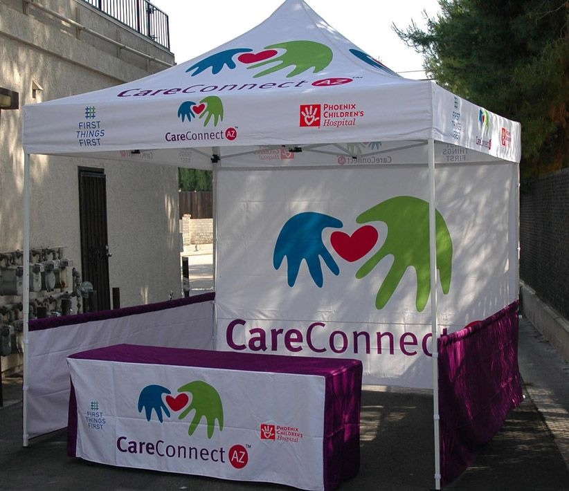 CareConnect Vendor Tent & Table Cover