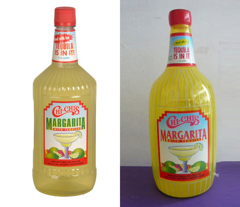 Chi-Chi's Margarita Bottle Inflatables