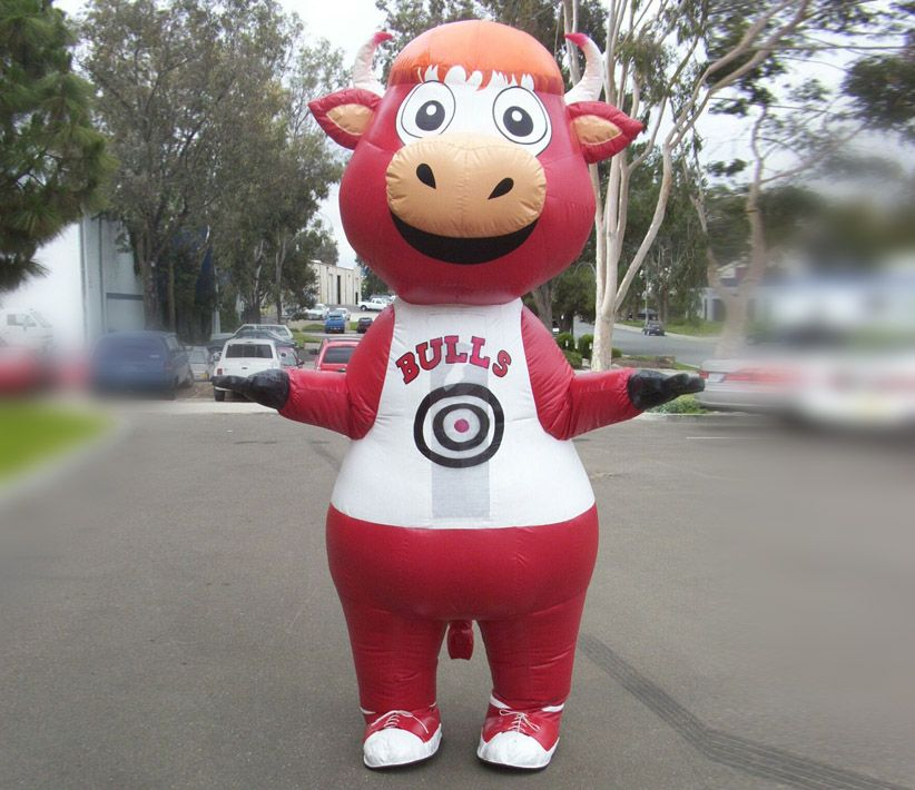 Chicago Bull Inflatable Costume
