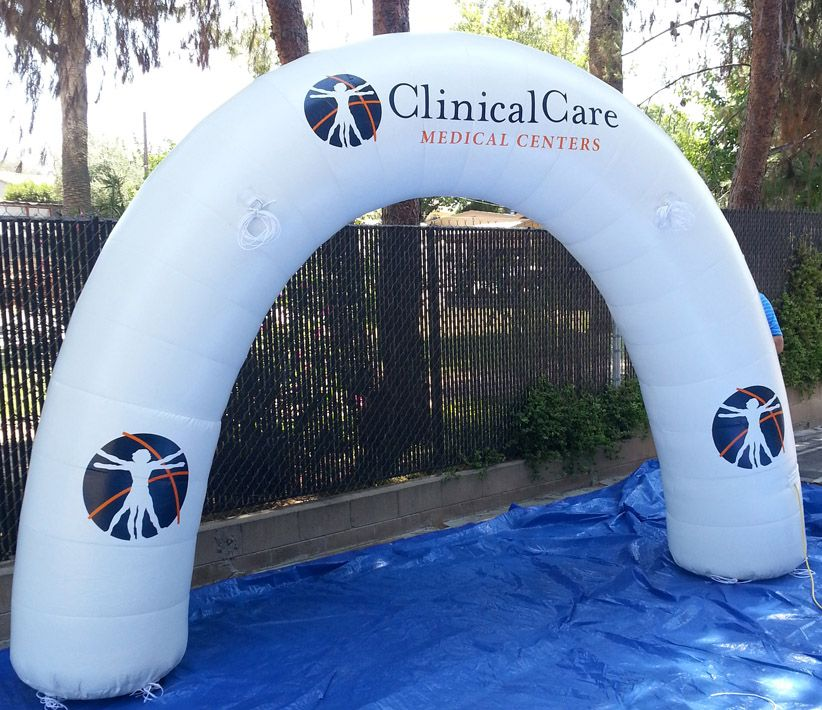 Clinical Care Inflatable Arch