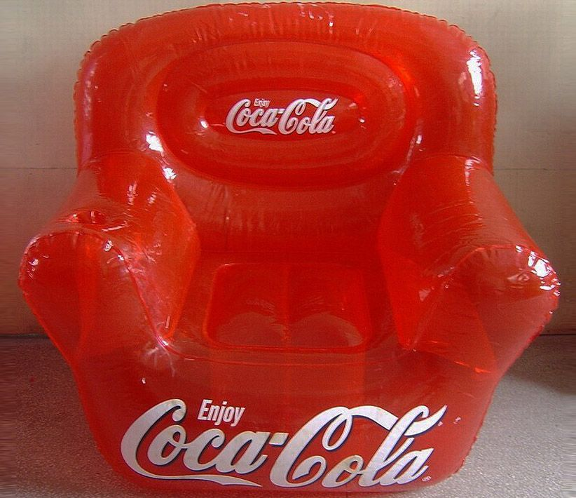 Coca-Cola Red Inflatable Chair
