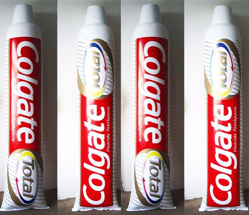 Colgate Total Toothpaste Inflatable