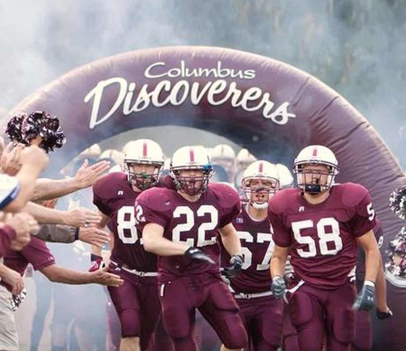 Columbus Discoverers Inflatable Tunnel