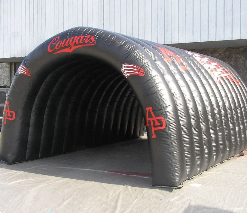 Cougars Sports Inflatable Tunnel