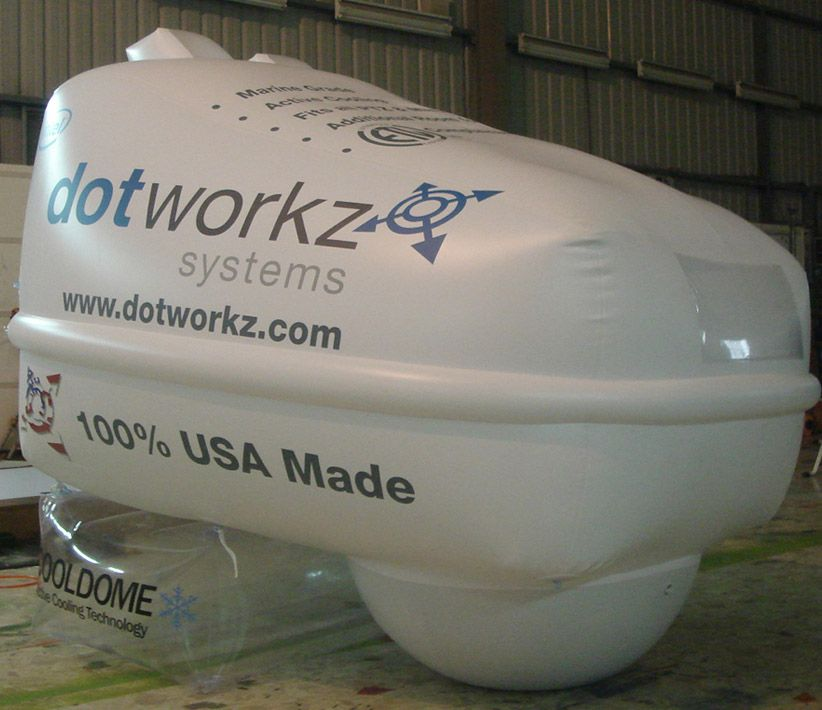 Dotworkz Systems Giant Inflatable