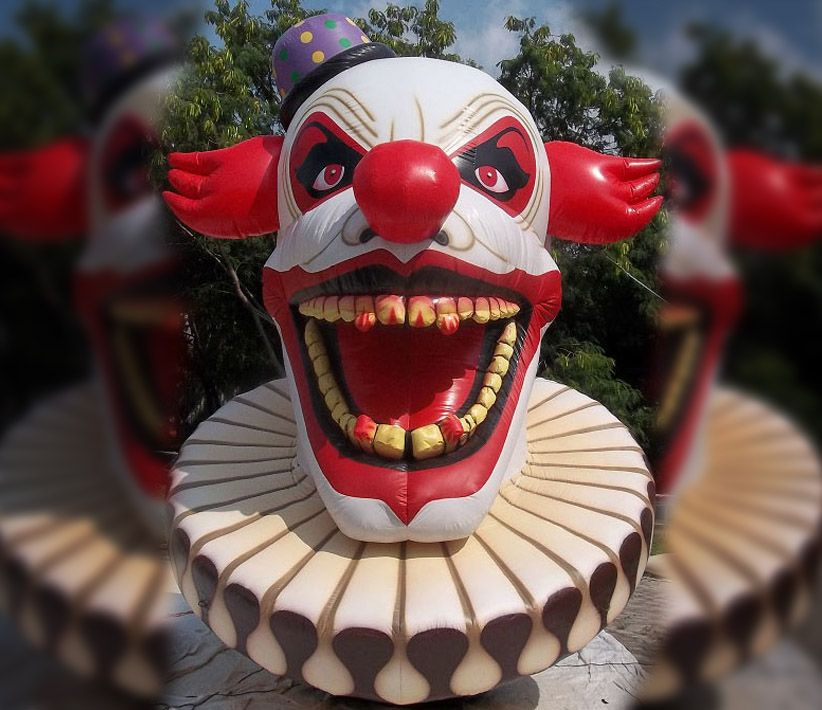 Giant Scary Clown Inflatable