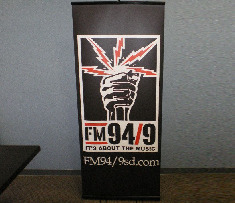 FM 949 Roll-Up Banner