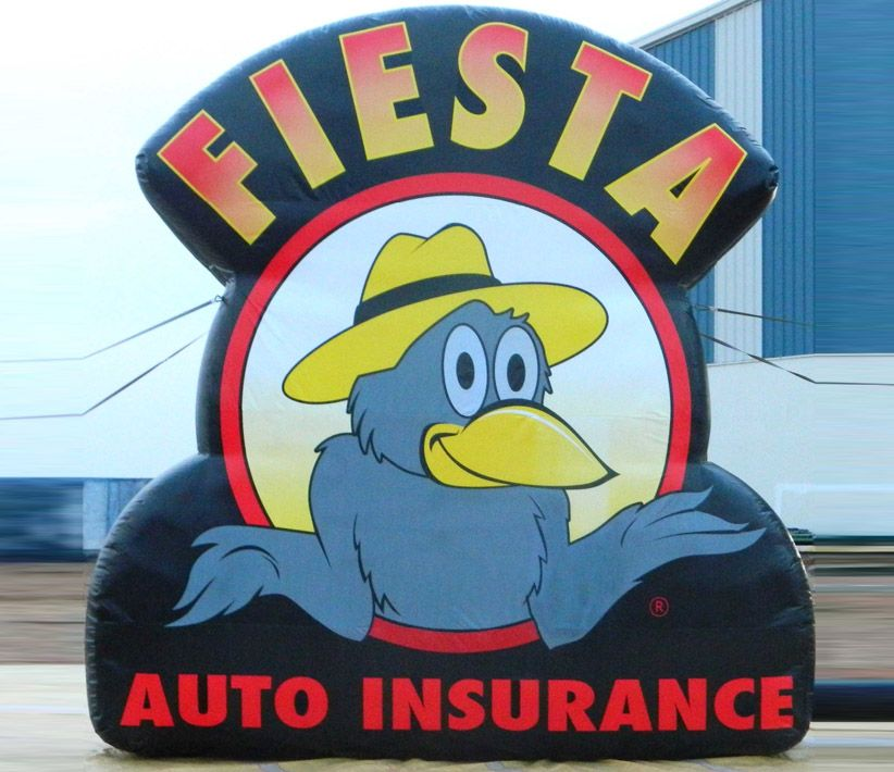 Fiesta Auto Insurance Inflatable