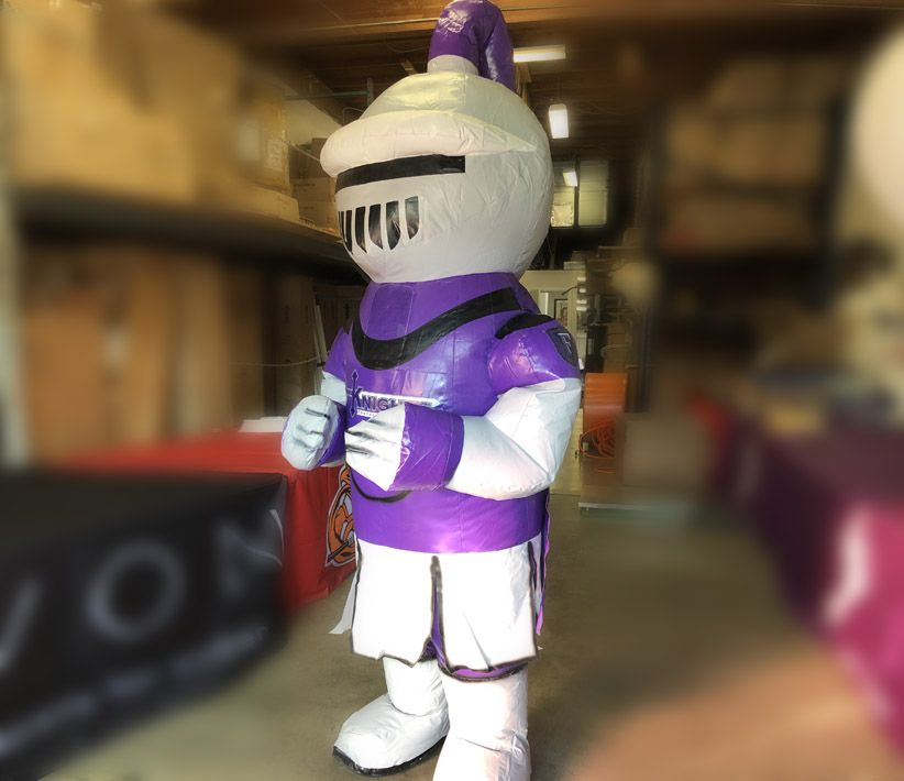 Foothills Knights Inflatable Costume