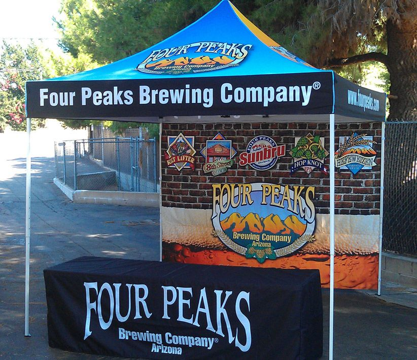 Four Peaks Brewing Co Vendor Tent & Table Cover