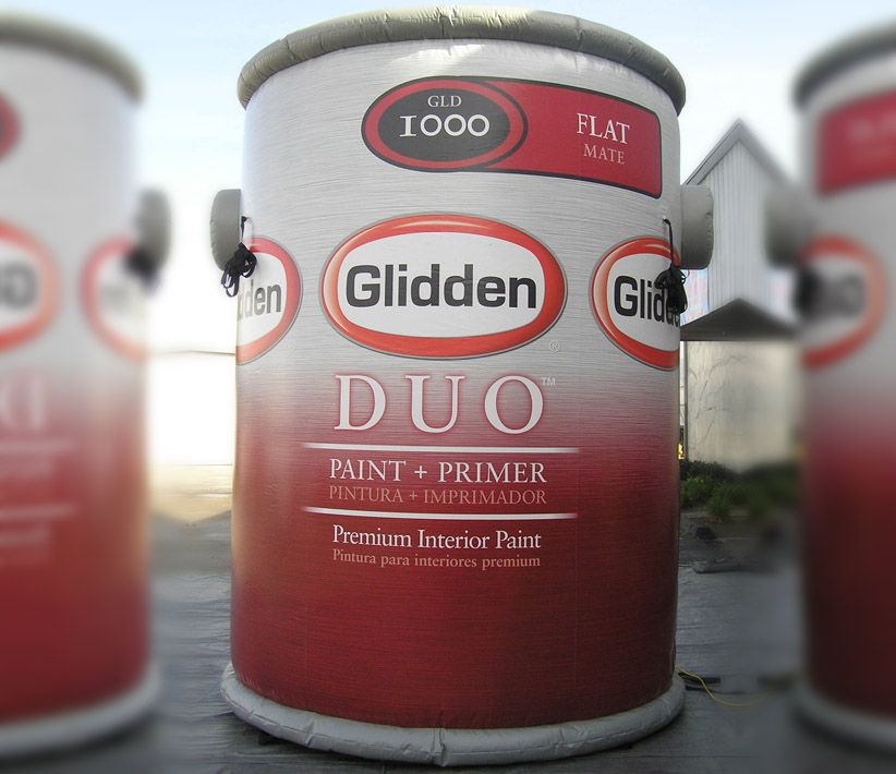Glidden Paint Can Giant Inflatable