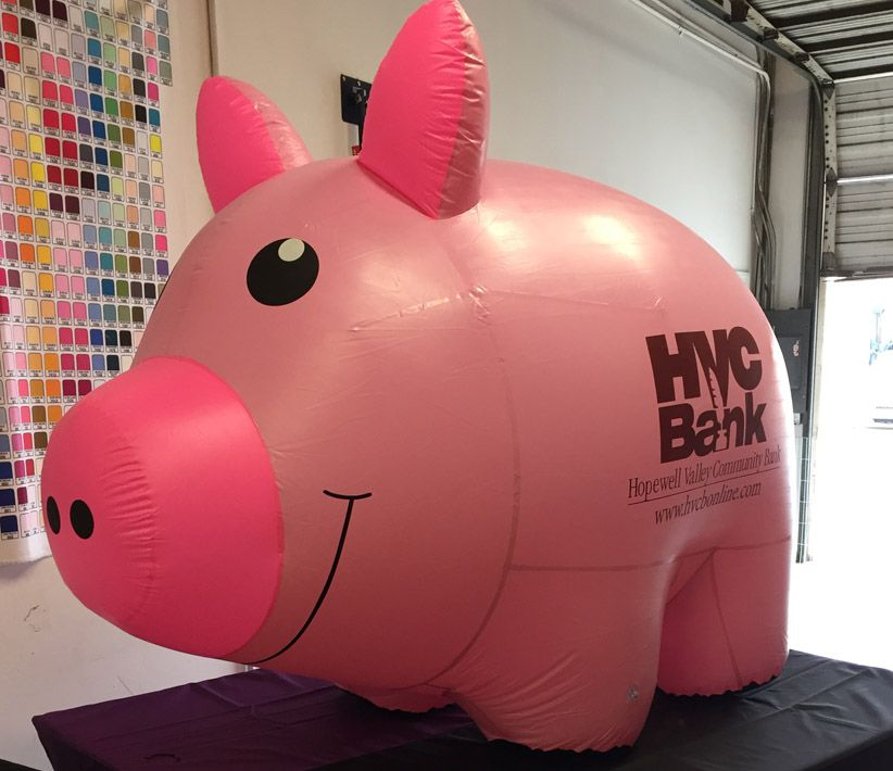 HVC Bank Pig Inflatable