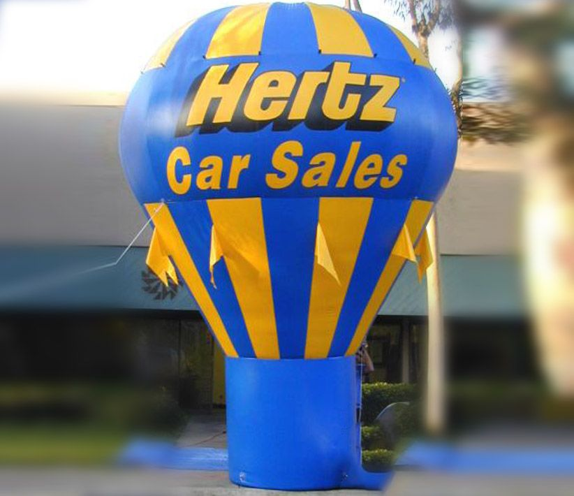 Hertz Cold Air Balloon