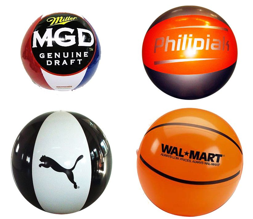Inflatable Spheres Logos on Ball Inflatables