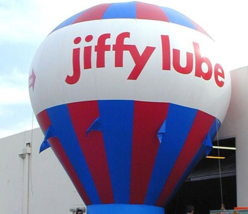 Jiffy Lube Cold Air Balloon