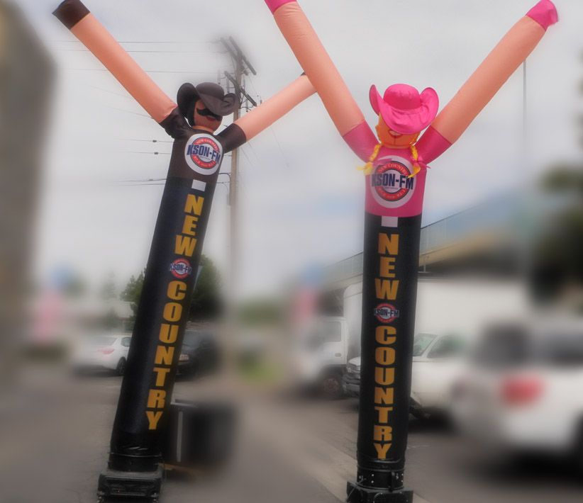KSON FM Dancing Inflatables