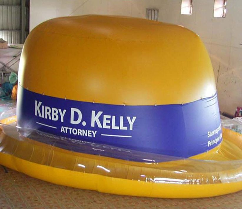 Kirby D. Kelly Attorney Cowboy Hat Inflatable