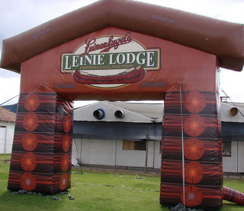 Leinie Lodge Inflatable Arch