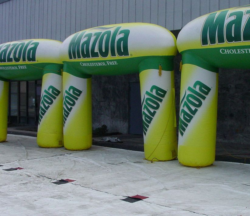 Mazola Inflatable Arches
