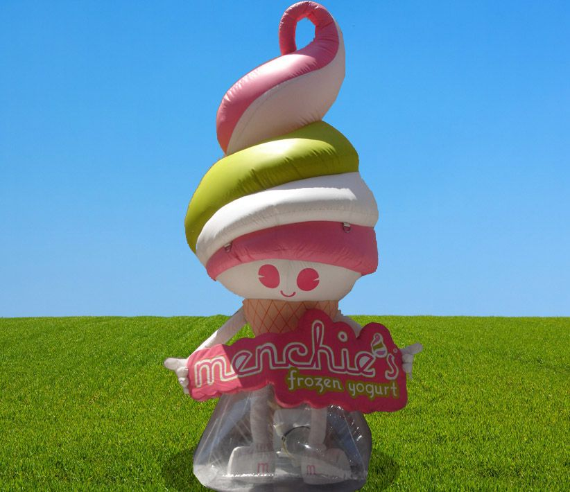Menchies Frozen Yogurt Giant Inflatable