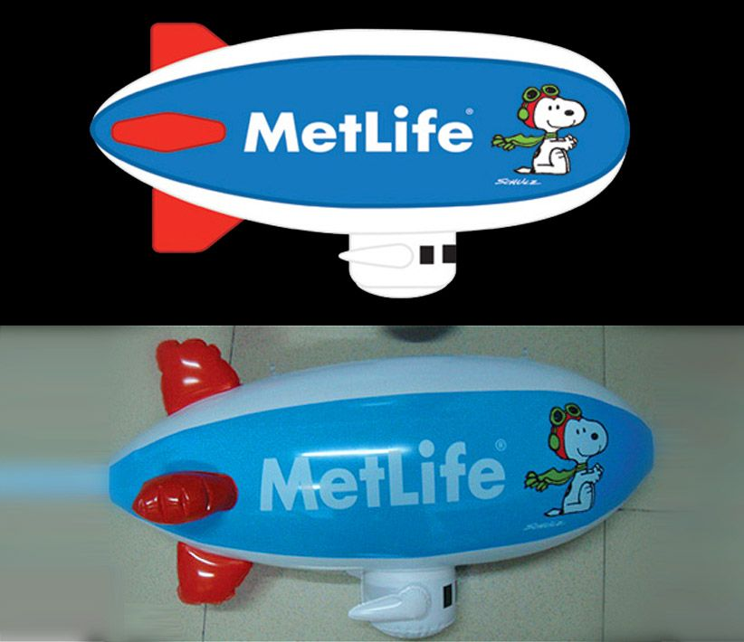 MetLife Inflatable Blimp