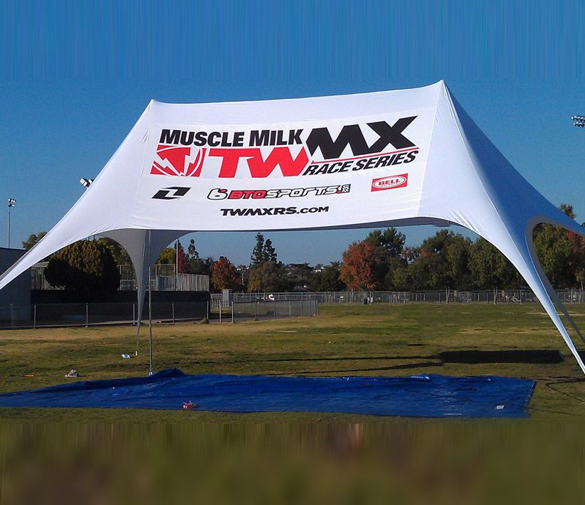 Muscle Milk Large Tent