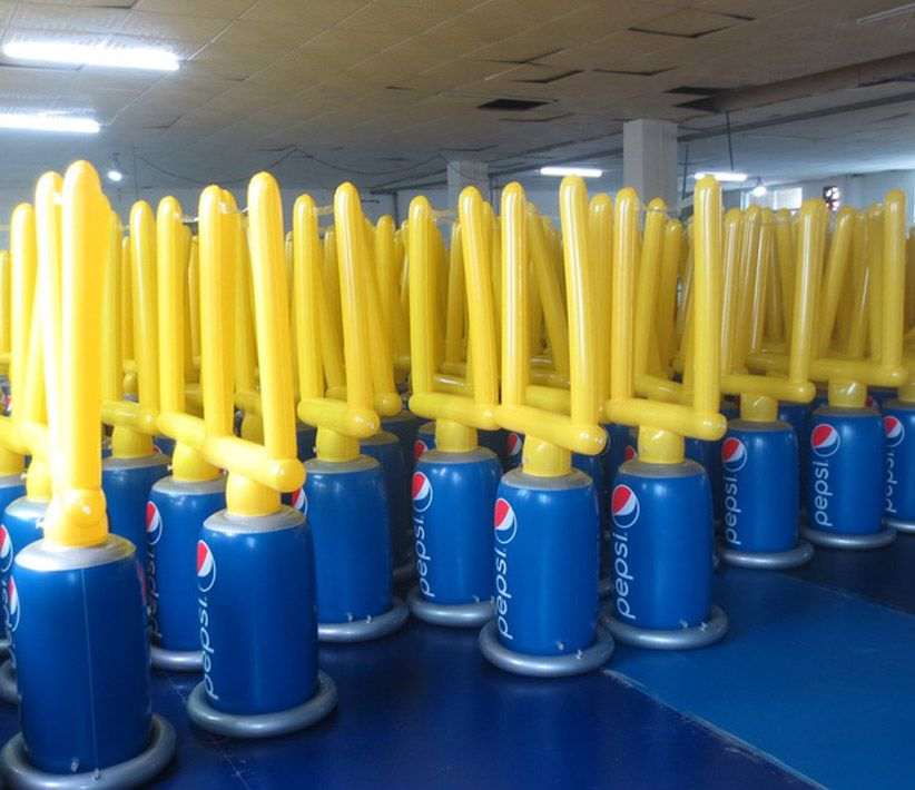 Pepsi Football Goal Inflatables