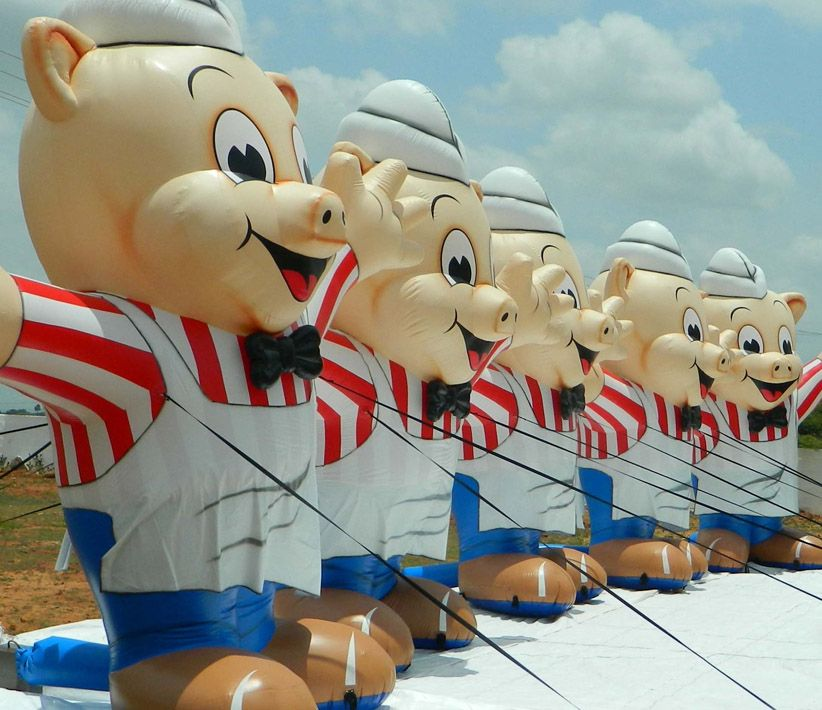 Piggly Wiggly Inflatables