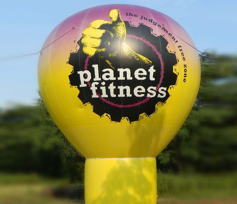 Planet Fitness Cold Air Balloon