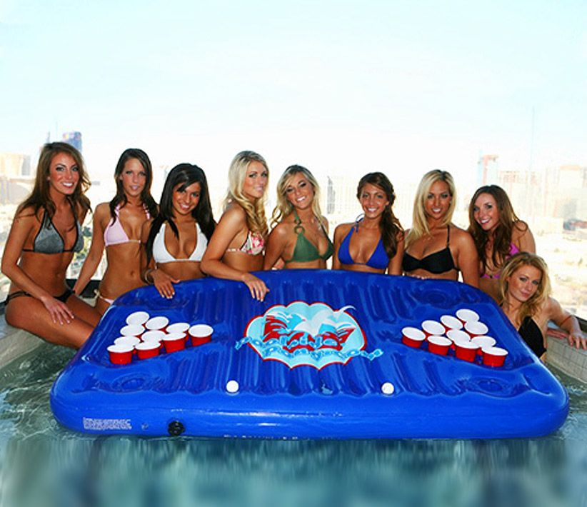 Poolside Pong Inflatable