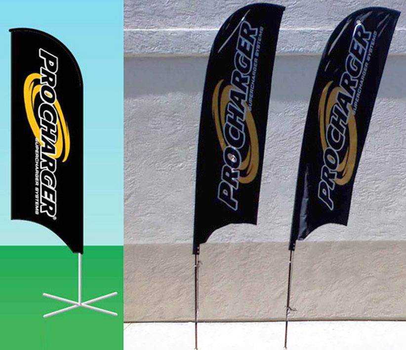 ProCharger Flying Promo Banners