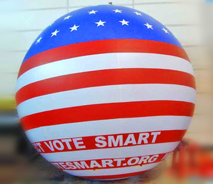 Project Vote Smart USA Helium Sphere