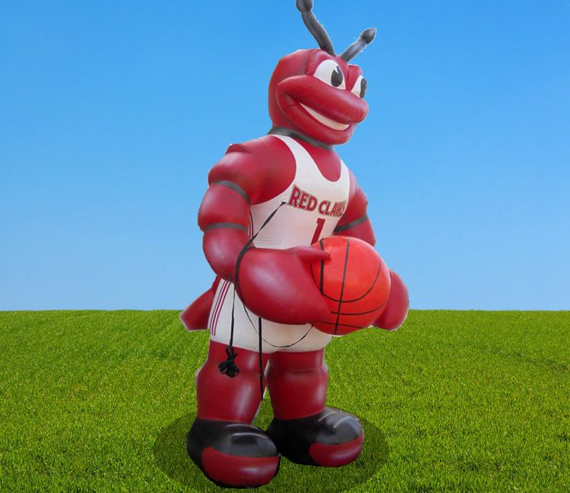 Red Claws Red Ant Basketball Giant Inflatable