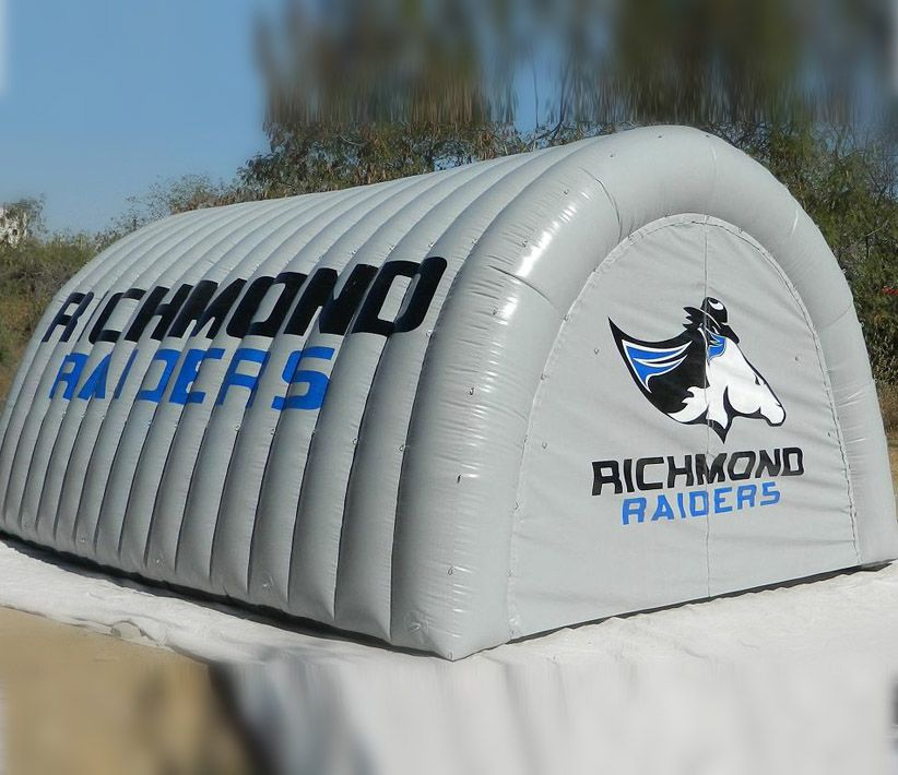Richmond Raiders Inflatable Tunnel