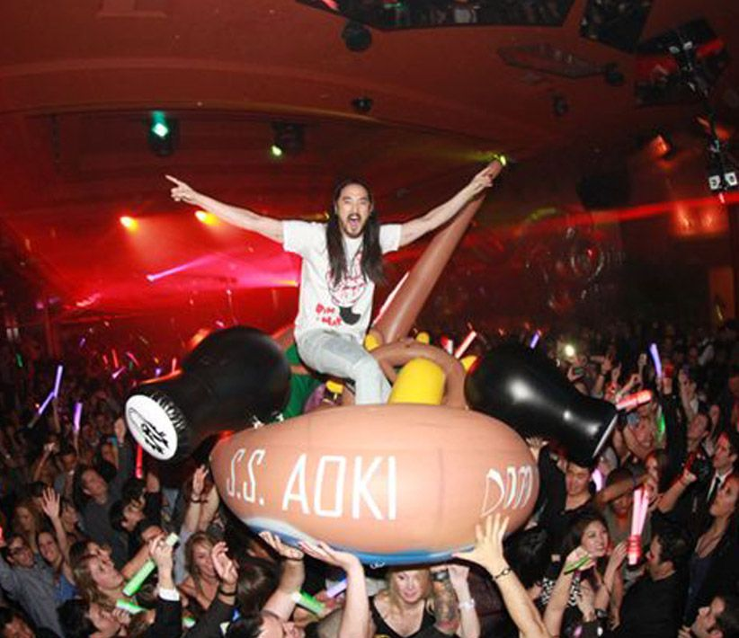 SS AOKI Party Ship Giant Inflatable