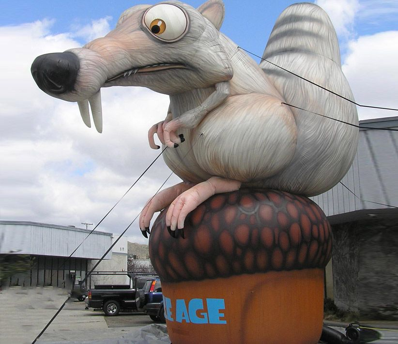 Scrat Ice Age Movie Giant Inflatable