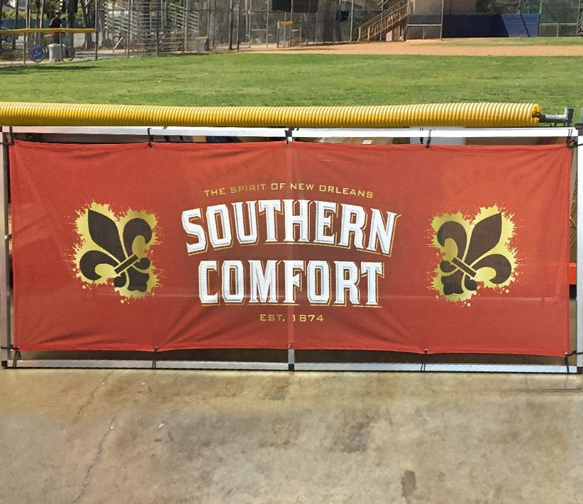 Southern Comfort Fence Wrap