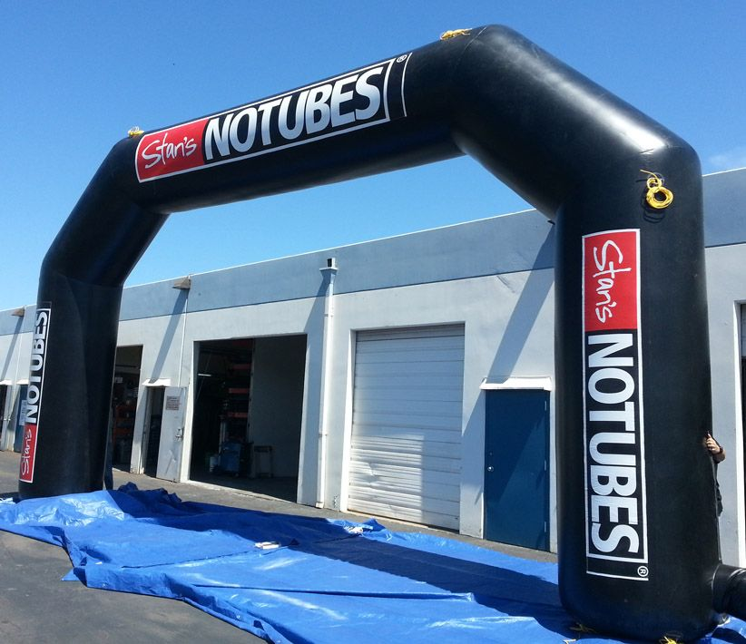 Stan's NoTubes Inflatable Arch
