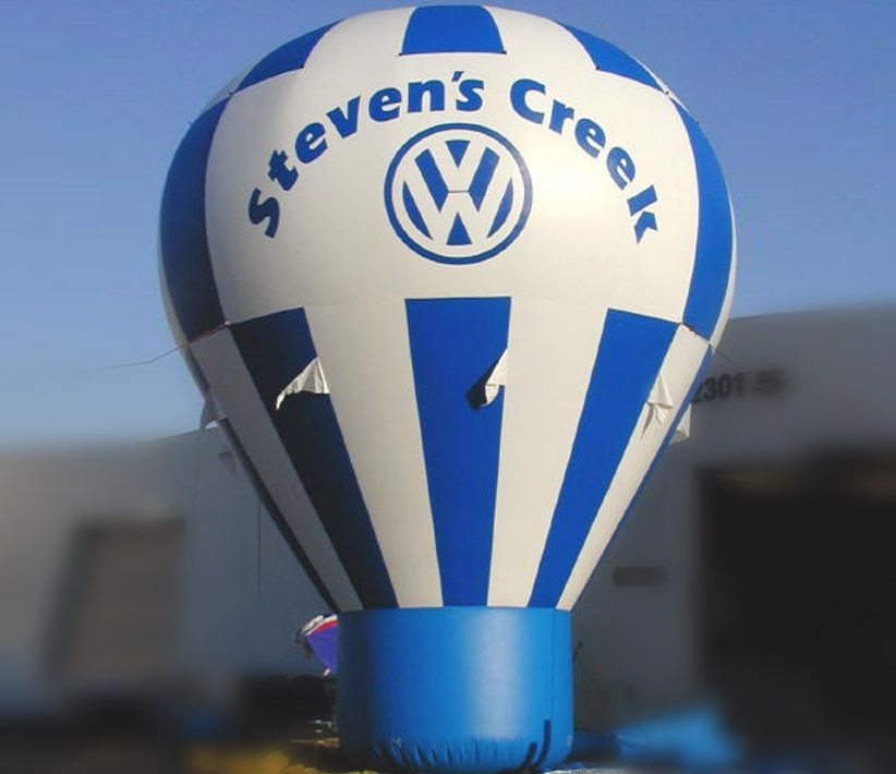 Steven's Creek VW Cold Air Balloon