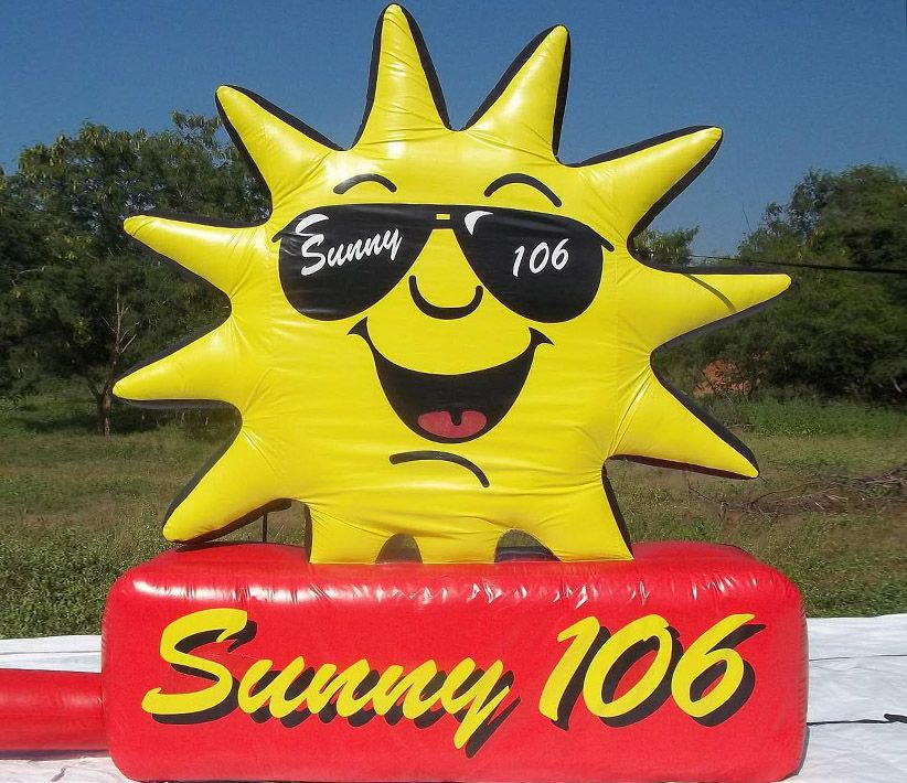 Sunny 106 FM Giant Inflatable